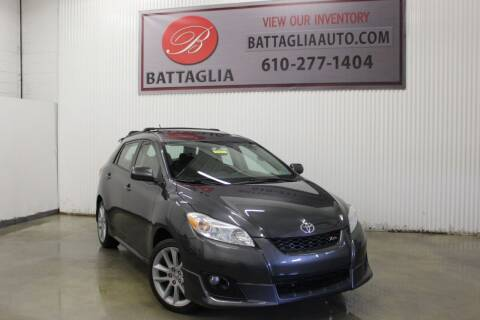 2009 Toyota Matrix for sale at Battaglia Auto Sales in Plymouth Meeting PA