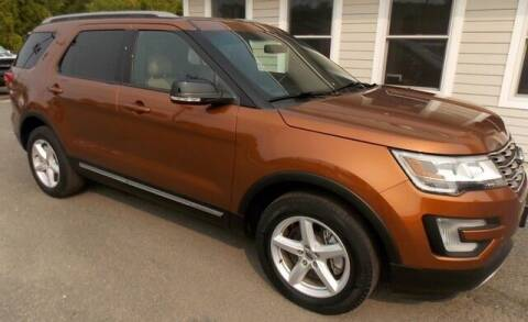 2017 Ford Explorer for sale at Bachettis Auto Sales in Sheffield MA