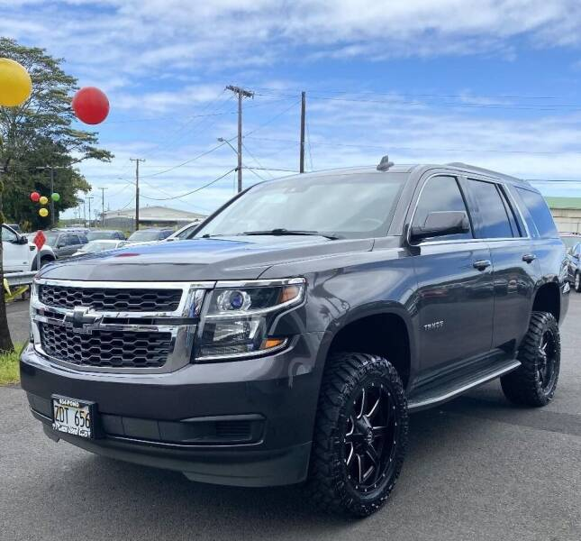 2015 Chevrolet Tahoe for sale at PONO'S USED CARS in Hilo HI