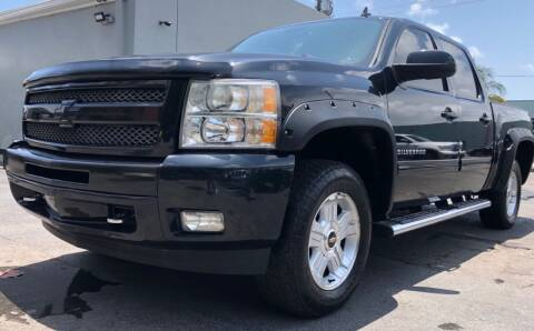 2010 Chevrolet Silverado 1500 for sale at Meru Motors in Hollywood FL