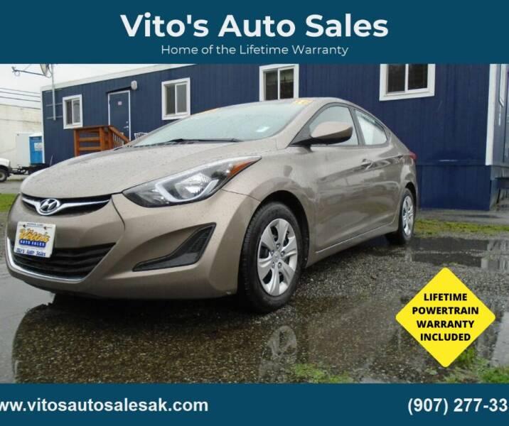 2016 Hyundai Elantra for sale at Vito's Auto Sales in Anchorage AK