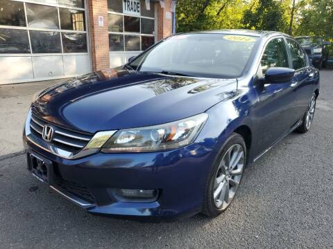 2014 Honda Accord for sale at CENTRAL AUTO GROUP in Raritan NJ