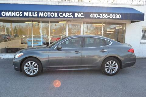 2011 Infiniti M37 for sale at Owings Mills Motor Cars in Owings Mills MD