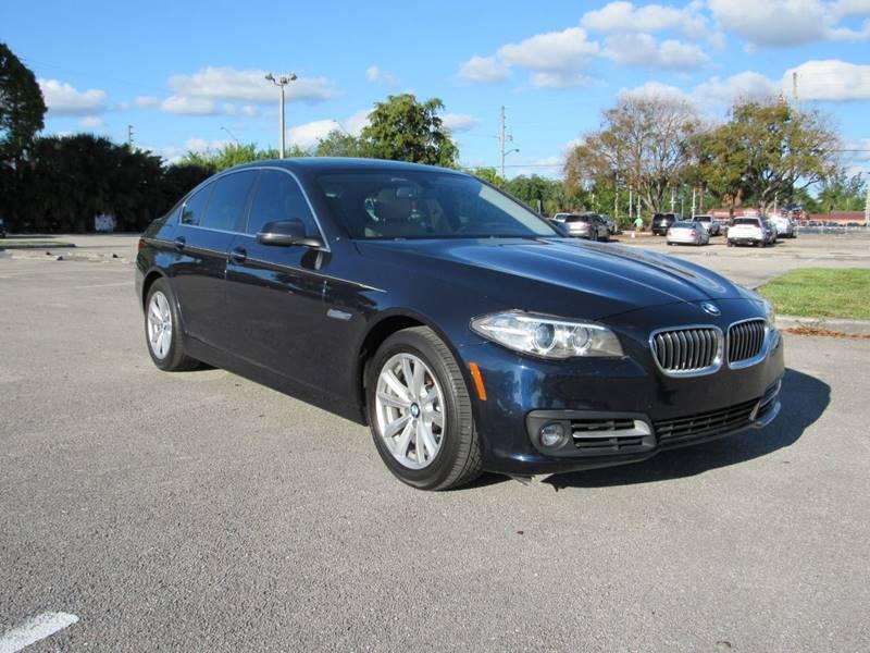 2015 BMW 5 Series for sale at United Auto Center in Davie FL