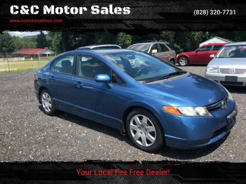 2007 Honda Civic for sale at C&C Motor Sales LLC in Hudson NC