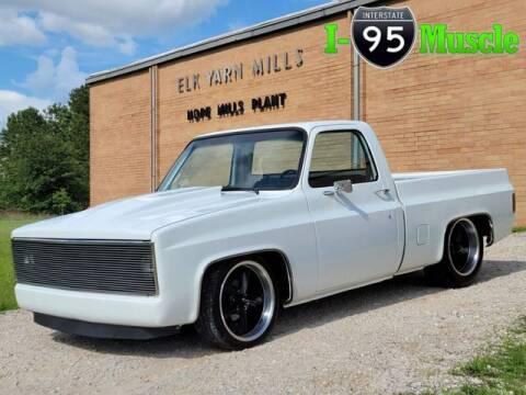 1982 Chevrolet C/K 10 Series for sale at I-95 Muscle in Hope Mills NC