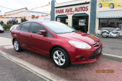 2014 Ford Focus for sale at PARK AVENUE AUTOS in Collingswood NJ