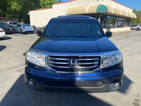 2014 Honda Pilot for sale at J Franklin Auto Sales in Macon GA