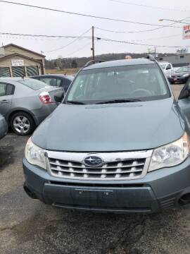 2011 Subaru Forester for sale at Stewart's Motor Sales in Cambridge/Byesville OH