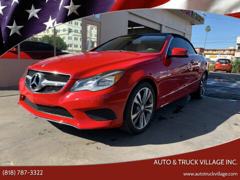 2016 Mercedes-Benz E-Class for sale at Auto & Truck Village Inc. in Van Nuys CA