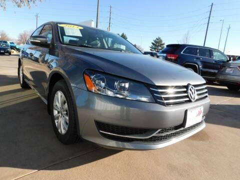2014 Volkswagen Passat for sale at AP Auto Brokers in Longmont CO