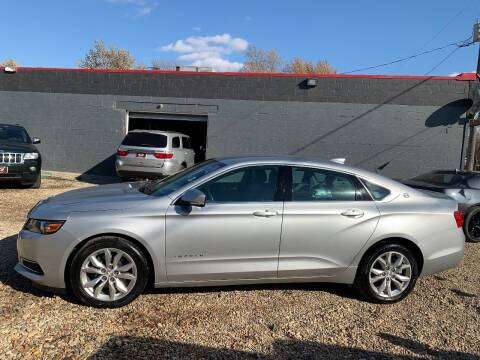 2016 Chevrolet Impala for sale at A & J AUTO SALES in Eagle Grove IA