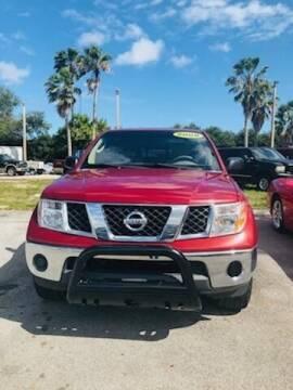 2008 Nissan Frontier for sale at DAN'S DEALS ON WHEELS in Davie FL