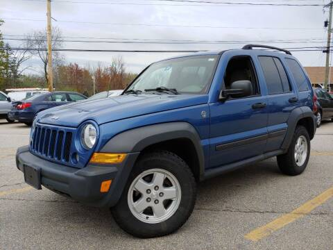 2006 Jeep Liberty for sale at J's Auto Exchange in Derry NH