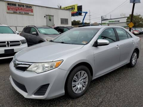 2012 Toyota Camry for sale at MENNE AUTO SALES in Hasbrouck Heights NJ