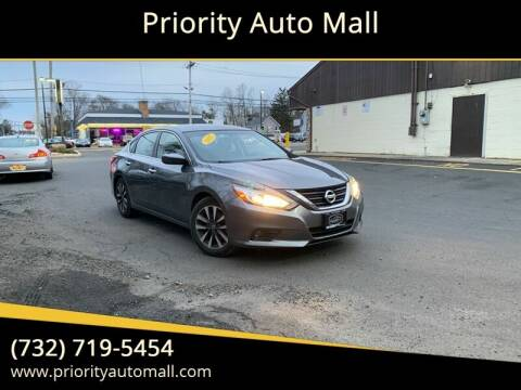 2017 Nissan Altima for sale at Mr. Minivans Auto Sales - Priority Auto Mall in Lakewood NJ