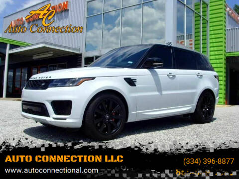 2020 Land Rover Range Rover Sport for sale at AUTO CONNECTION LLC in Montgomery AL