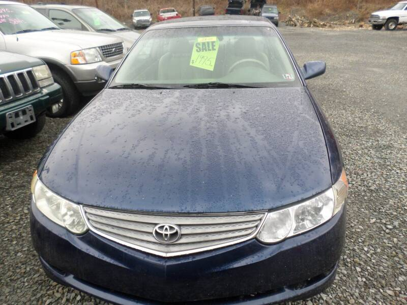 2003 Toyota Camry Solara for sale at FERNWOOD AUTO SALES in Nicholson PA