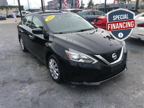 2016 Nissan Sentra for sale at MACHADO AUTO SALES in Miami FL