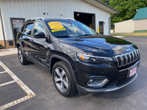 2019 Jeep Cherokee for sale at Kubly's Automotive in Brodhead WI