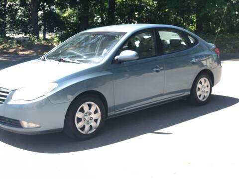 2007 Hyundai Elantra for sale at Kimp Enterprises LLC in Waterbury CT