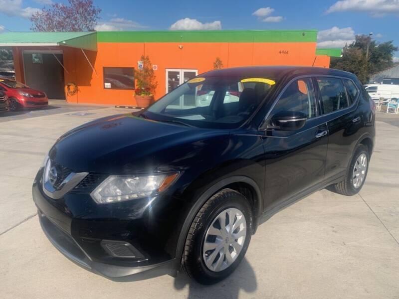 2015 Nissan Rogue for sale at Galaxy Auto Service, Inc. in Orlando FL