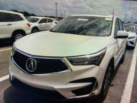 2020 Acura RDX for sale at JOE BULLARD USED CARS in Mobile AL