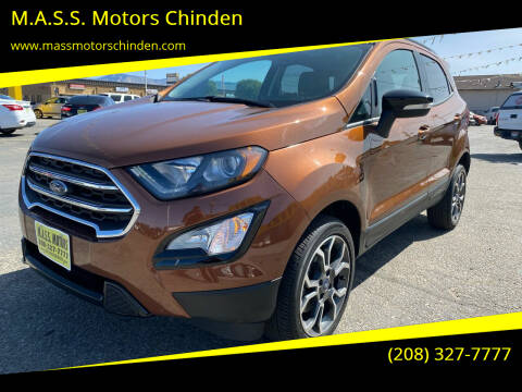 2019 Ford EcoSport for sale at M.A.S.S. Motors - West Fairview in Boise ID