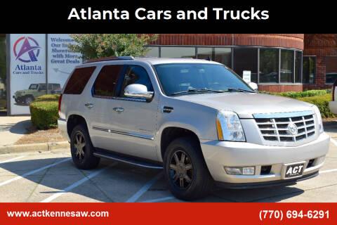 2007 Cadillac Escalade for sale at Atlanta Cars and Trucks in Kennesaw GA