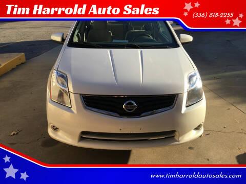 2012 Nissan Sentra for sale at Tim Harrold Auto Sales in Wilkesboro NC