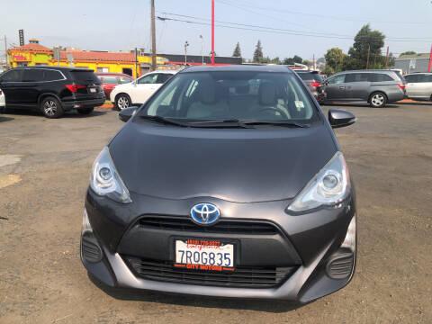 2016 Toyota Prius c for sale at City Motors in Hayward CA