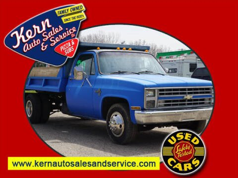 1986 Chevrolet C/K 30 Series for sale at Kern Auto Sales & Service LLC in Chelsea MI