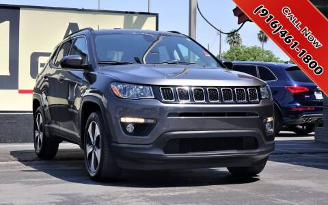 2017 Jeep Compass for sale at H1 Auto Group in Sacramento CA