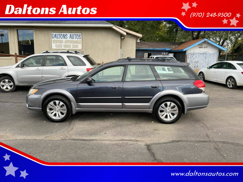 2008 Subaru Outback for sale at Daltons Autos in Grand Junction CO