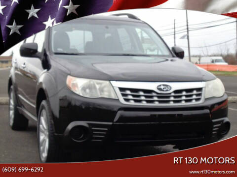 2012 Subaru Forester for sale at RT 130 Motors in Burlington NJ