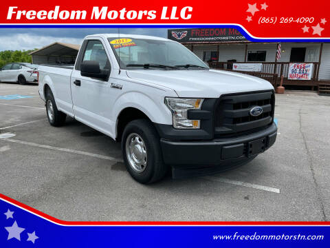 2017 Ford F-150 for sale at Freedom Motors LLC in Knoxville TN