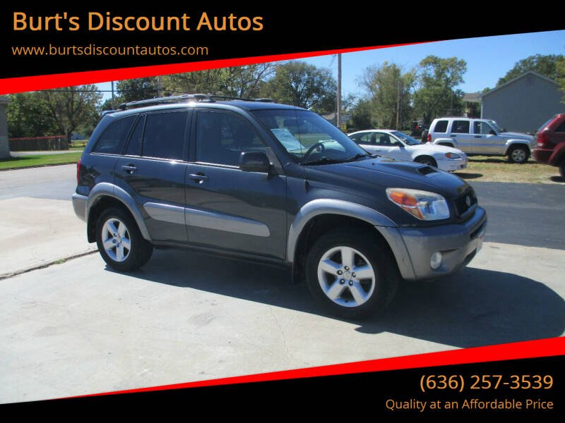 2005 Toyota RAV4 for sale at Burt's Discount Autos in Pacific MO