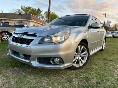2013 Subaru Legacy for sale at Texas Select Autos LLC in Mckinney TX