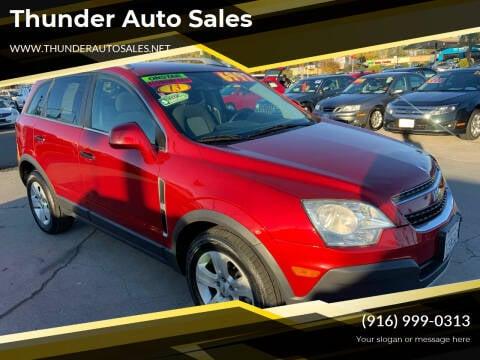 2013 Chevrolet Captiva Sport for sale at Thunder Auto Sales in Sacramento CA