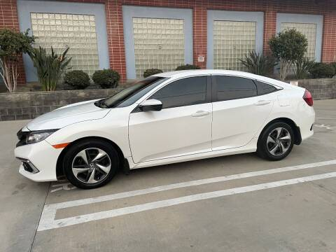 2020 Honda Civic for sale at AS LOW PRICE INC. in Van Nuys CA