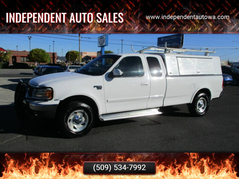 2001 Ford F-150 for sale at Independent Auto Sales in Spokane Valley WA