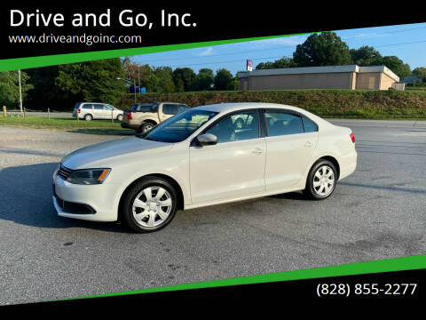 2013 Volkswagen Jetta for sale at Drive and Go, Inc. in Hickory NC
