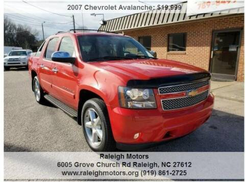 2007 Chevrolet Avalanche for sale at Raleigh Motors in Raleigh NC