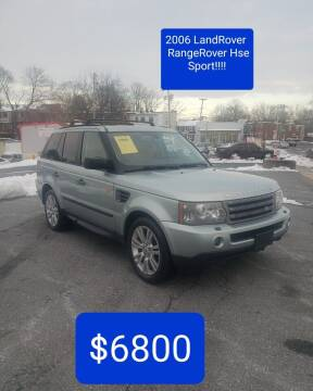 2006 Land Rover Range Rover Sport for sale at SERENITY AUTO OUTLET in Frederick MD