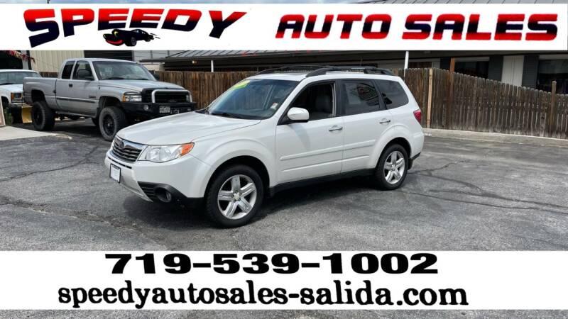 2010 Subaru Forester for sale at SPEEDY AUTO SALES Inc in Salida CO