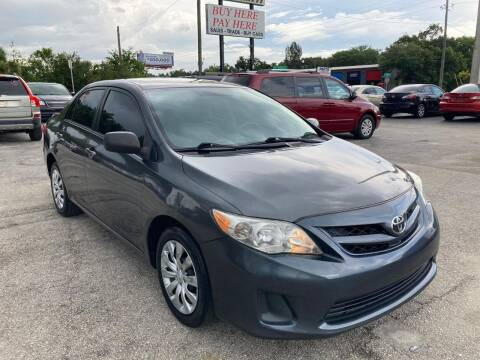 2012 Toyota Corolla for sale at Mars auto trade llc in Kissimmee FL