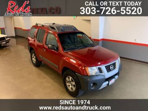 2011 Nissan Xterra for sale at Red's Auto and Truck in Longmont CO