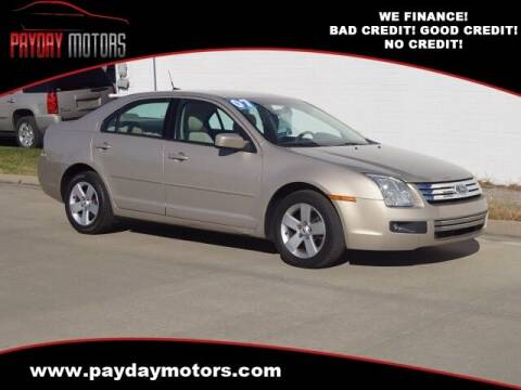 2007 Ford Fusion for sale at Payday Motors in Wichita And Topeka KS
