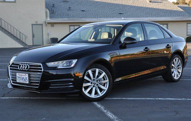 2017 Audi A4 for sale at AMC Auto Sales, Inc. in Fremont CA