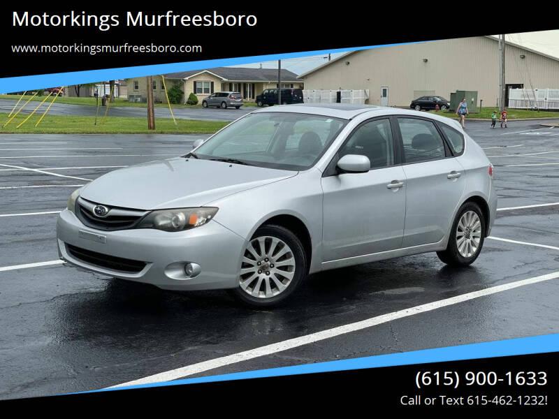 2010 Subaru Impreza for sale at Motorkings Murfreesboro in Murfreesboro TN
